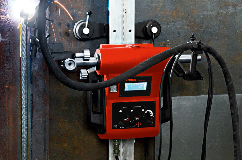 Tractorase pentru sudare de la Lorch - Cresterea eficientei cu ajutorul noilor tractorase pentru sudare de