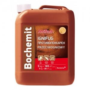 Solutie ignifugare si anticarii - Bochemit Antiflash - Tratamente pentru protectia lemnului si a constructiilor de lemn