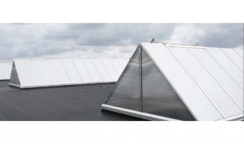 Luminatoare triunghiulare cu profile compozite - JET Vario Therm S - Luminatoare - JET