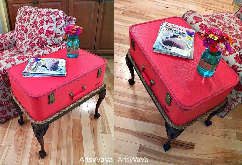Descoperă ce lucruri poți să faci cu vechile valize - Descoperă ce lucruri poți să faci
