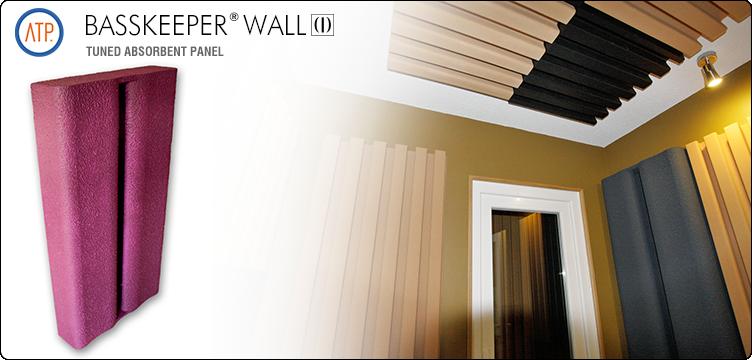Panou acustic de absorbtie pentru frecvente joase BASSKEEPER WALL  - Panouri acustice de absorbtie pentru frecvente joase