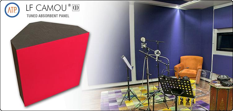 Panou acustic de absorbtie pentru frecvente joase LF CAMOU - Panouri acustice de absorbtie pentru frecvente joase