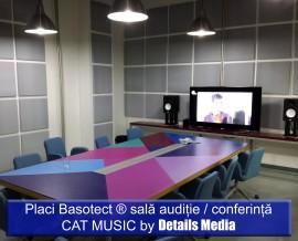 Placi Basotect sala auditie / conferinta Cat music - Izolatii fonice