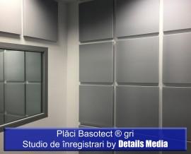 Placi Basotect gri Studio de inregistrari - Izolatii fonice