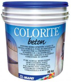 Vopsea pentru protectia suprafetelor din beton - ciment - Colorite Beton - Pelicule hidroizolante