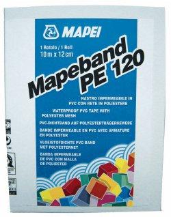 Banda elastica din PVC pentru etansarea rosturilor si imbinarilor la interior - Mapeband PE 120 - Pelicule hidroizolante