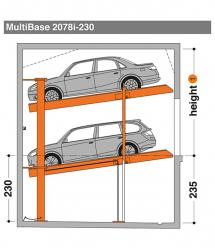 MultiBase 2078i 230 - MultiBase 2078i