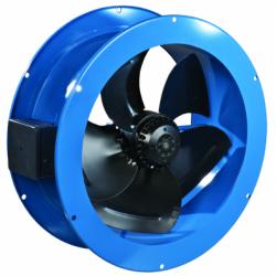 Ventilator axial de tubulatura diam 450mm, 4650 mc/h - Ventilatie industriala ventilatoare axiale de perete si de tubulatura