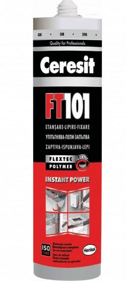 FT 101 - Etansant si adeziv pe baza de polimeri - Chituri siliconice - Ceresit