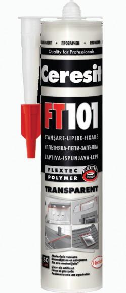 FT 101 - Etansant si adeziv rezistent la intemperii - Chituri siliconice - Ceresit