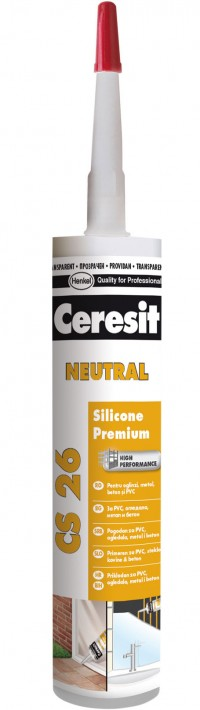 CS 26 - Silicon neutral - Chituri siliconice - Ceresit