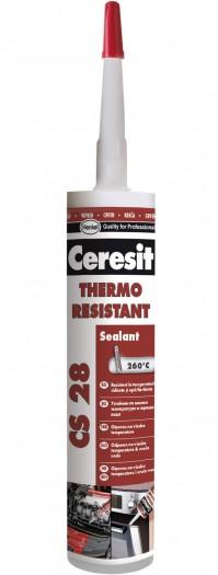 CS 28 - Silicon rezistent la temperaturi inalte - Chituri siliconice - Ceresit