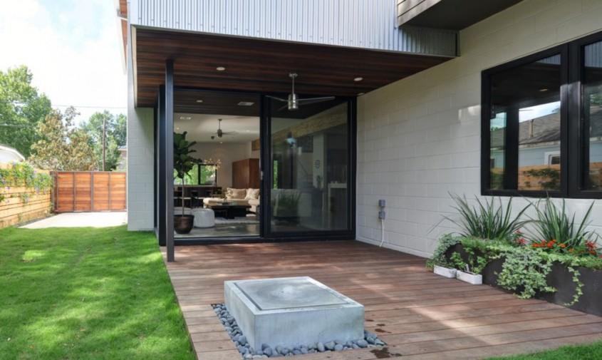 Emory-House-by-studioMET-5-1020x610 - Eficienta spatiala pentru o casa amplasata pe un lot ingust