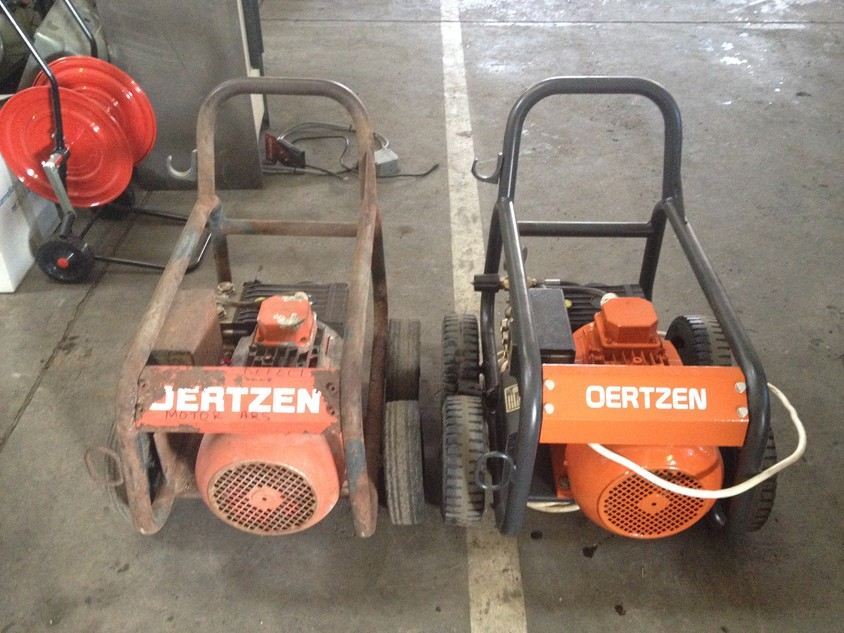 Oertzen in service Unilift - Oertzen: spalare cu presiune, echipamente de calitate, service rapid