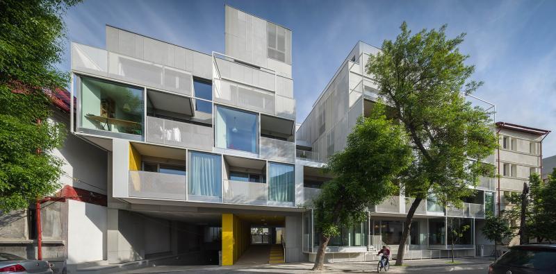 """Proiectul """"Ansamblul de locuinte in Bucuresti"""" realizat de ADNBA - Arhitecti din Austria Croatia Grecia Romania"""