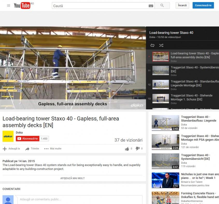 Youtube - Doka Romania @ Online