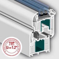 Profil ROPLASTO 7001 MD cu 7 camere Swingline - Profil 7001 MD cu 7 camere