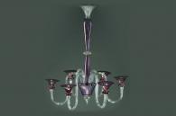 Candelabru LILIAC - lustre din sticla realizate la comanda