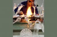 Glassblower - lustre din sticla realizate la comanda