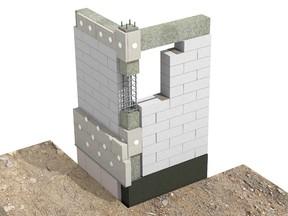Racord de colt zidarie portanta - atenuare punti termice in cazul zidariei multistrat - Racordul cu elementele structurale - detalii de camp / Compensarea puntilor termice - detalii de colt