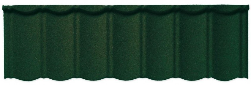 Decra® Classic - Verde padure (Seagreen 04) - Decra a lansat pe piață țigla metalică cu