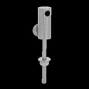 Unitate de spalare pentru pisoare cu senzor infrarosu din alama cromata, 9V - SLP 09K - Unitati de spalare pisoare cu senzor infrarosu
