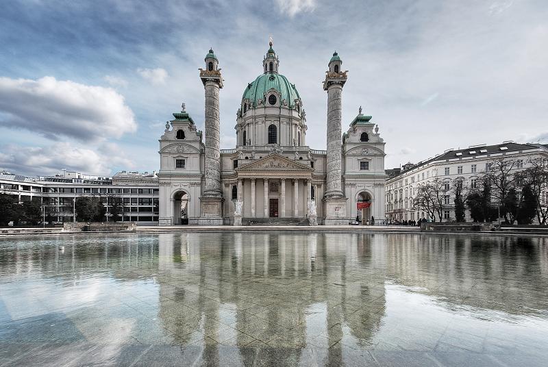 Biserica Sfantul Carol, Viena - Lectia de arhitectura - emblemele stilului baroc