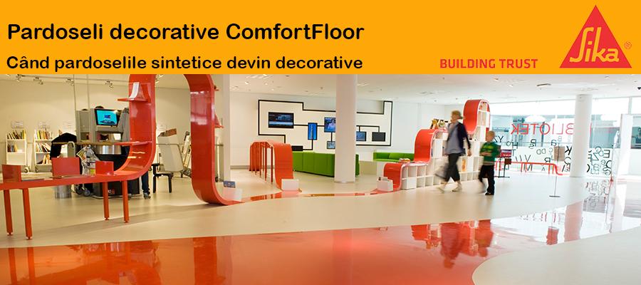 Sika ComfortFloor  - Pardoseli decorative ComfortFloor