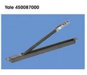 Trecere metalica din usa in toc cu arc pentru fire electrice - cod 450087000 - Accesorii pentru broaste si yale electromagnetice aplicate