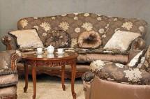 Canapea 3 locuri Cezar - Mobila pentru hol lemn masiv Cezar