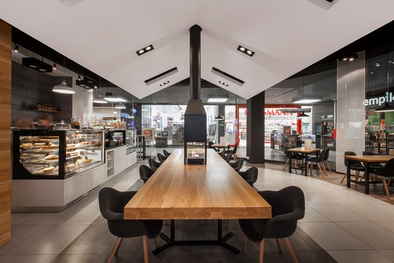 Cafeina Café  - 14 cafenele care-ti dovedesc frumusetea design-ului creativ