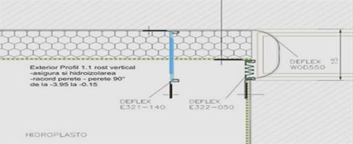 Principalele criterii in alegerea profilelor de dilatatie pentru pereti si tavane si in instalarea lor -