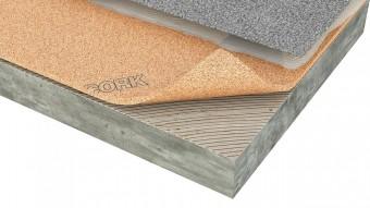 Izolatie termica si fonica din pluta aglomerata pentru mocheta - Izolatie din pluta aglomerata pentru pardoseli incalzite Acousticork