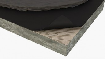 Membrana impermeabila - Izolatie din pluta aglomerata pentru pardoseli incalzite Acousticork