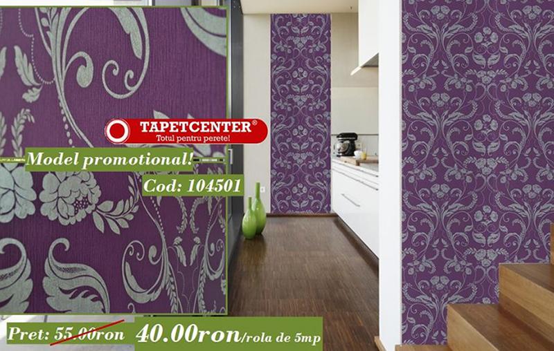 Tapet floral 104501 - Promotie - Promotiile continua si in aceasta luna la TAPETCENTER!