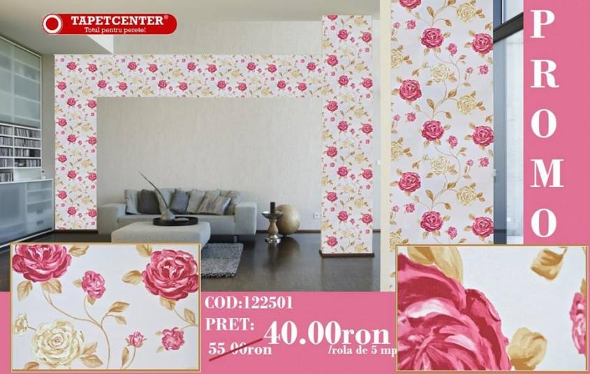 Tapet floral 122501 - Promotie - Promotiile continua si in aceasta luna la TAPETCENTER!