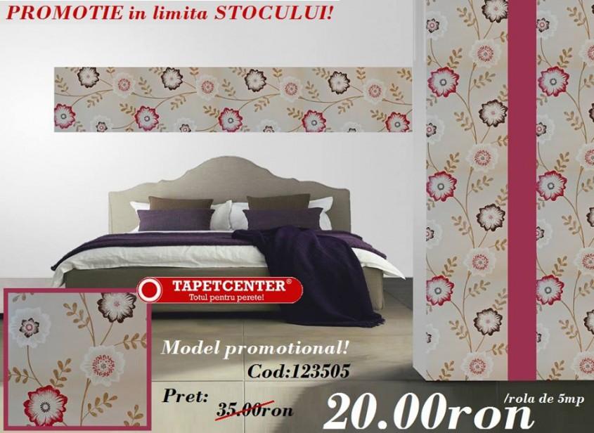 Tapet floral 123505 - Promotie - Promotiile continua si in aceasta luna la TAPETCENTER!