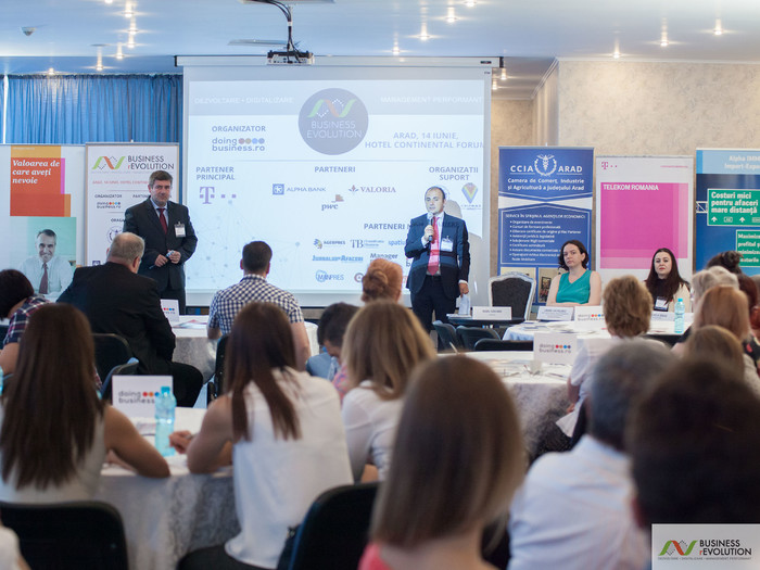 IMG_2054111 - La Arad, Doingbusiness.ro încheie prima parte a seriei de conferințe naționale  Business (r)Evolution