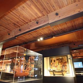Muzeul Maritim International din Hamburg - Protectia la foc a elementelor din lemn cu sistemele SIKA Pyroplast