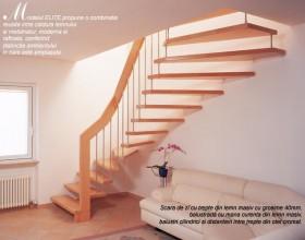 Scara din lemn dreapta sau balansata - ELITE - Scari din lemn drepte sau balansate - ESTFELLER