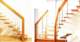 Scara din lemn dreapta sau balansata - PRESTIGE - Scari din lemn drepte sau balansate - ESTFELLER