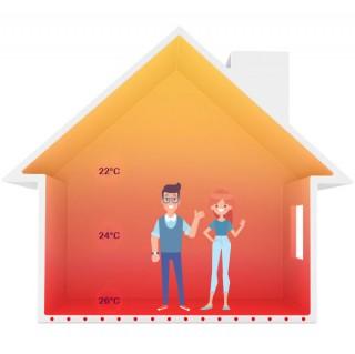 Incalzire electrica in pardoseala - Beneficii