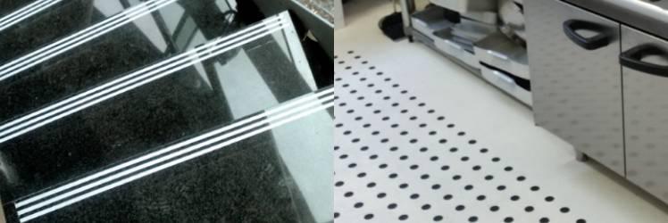 Profilux va prezinta un produs inovator pentru protectia anti-alunecare destinat treptelor si pardoselilor RezTred - PROFILUX