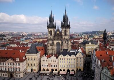 Biserica Sfintei Fecioare din Tyn - O călătorie arhitecturală prin Praga, orașul celor 100 de clopotnițe - partea I