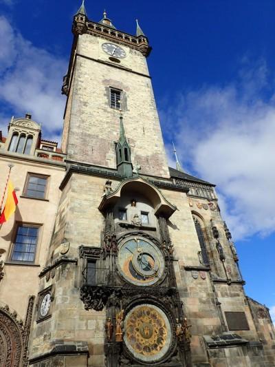 Vechea Primarie si Turnul Ceasului Astronomic - O călătorie arhitecturală prin Praga, orașul celor 100 de clopotnițe - partea I
