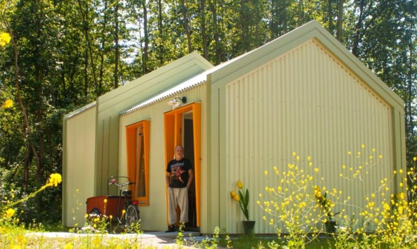 O zona rezidentiala pentru cei fara adapost alimentata in intregime cu energie solara - O zonă