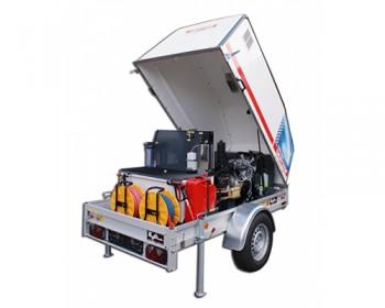 Curatitor cu presiune cu apa caldarece OERTZEN Powertrailer 330 - Echipamente pentru curatenie industrial