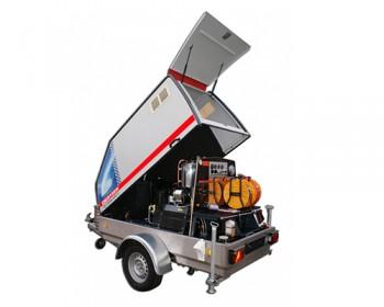 Curatitor cu presiune Oertzen Powertrailer 380/500 - Echipamente pentru curatenie industrial