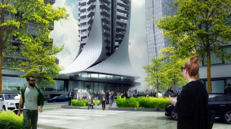 A început construcția celui mai înalt turn rezidențial - A început construcția celui mai înalt turn rezidențial