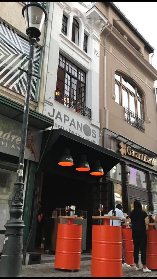 Japanos Lipscani - Japanos - o amenajare perfectă ca să RAMEN la tine!